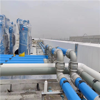 铝合金压缩空气管道安装